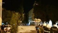 Kamenice i suzavac kod Centra bezbjednosti Podgorica