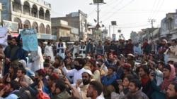 ډېره اسماعیل خان کې د پښتون ژغورنې غورځنګ احتجاجي مظاهره