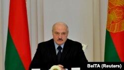 Белорускиот претседател Александар Лукшенко
