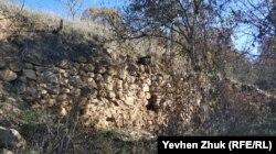 Развалины Чоргуньского исара