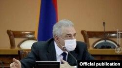 Министр обороны Армении Вагаршак Арутюнян