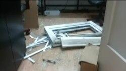 Експлозија во канцелариите на весникот Вјести во Подгорица
