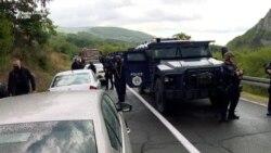 Protestuesit bllokojnë rrugën në Jarinjë