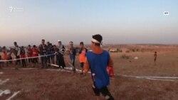 Сириядағы босқын балалар өз олимпиадасын өткізді