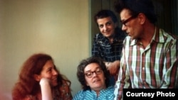Юлия Вишневская, Людмила Алексеева, Дина Каминская, Кронид Любарский. Мюнхен, Радио Свобода, 1978