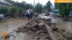 Тасқында қалған Қарағайлы ауыл
