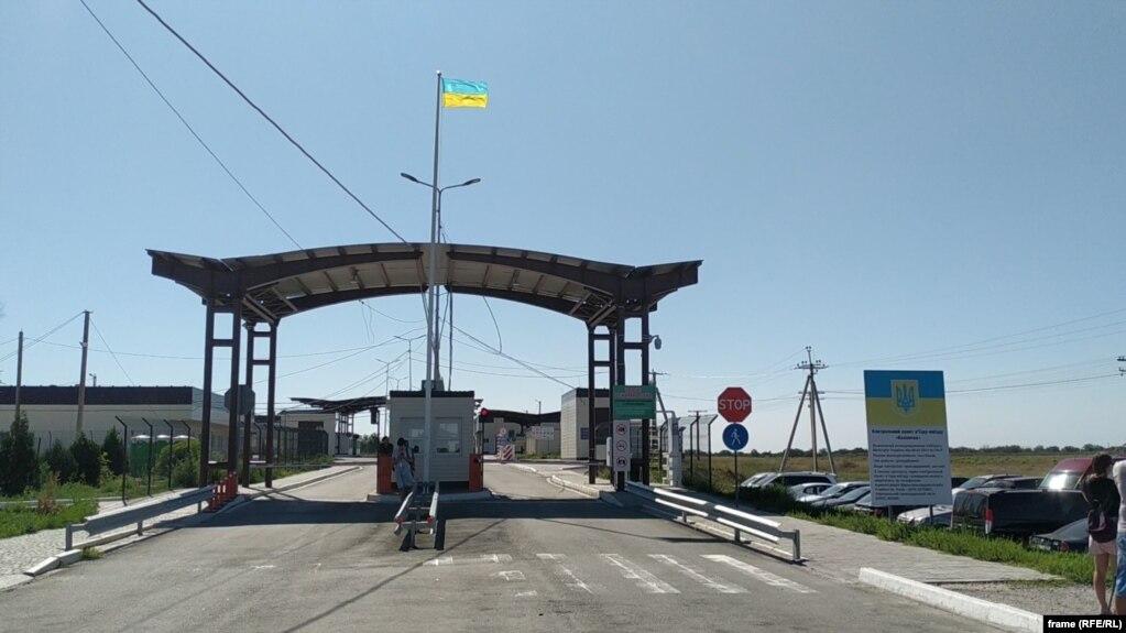 КПВВ «Каланчак», административная граница между Крымом и Херсонской областью