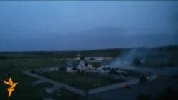 Бой на окраине Луганска