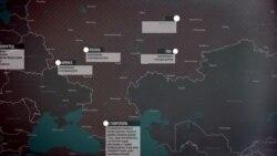 Сообщения о ложных минированиях в России – карта
