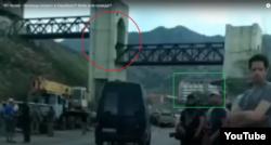 Фрагмент из видео, в котором говорится об участии чеченцев в конфликте в Нагорном Карабахе