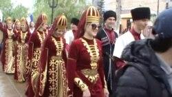 Кавказалъул гIолохъабазул байрам МахIачхъалаялда