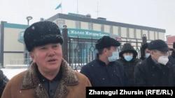 Бауыржан Исмаилов, Ақтөбе облыстық жедел жәрдем қызметінің көлік жүргізушісі. 15 ақпан 2021 жыл.