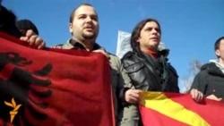 Протести против полициска бруталност во Скопје