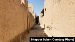 This alley in Herat was once home to Jewish families.