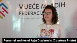 Asja Dizdarević: Sada je veliki zadatak na mladim političarima da osmisle planove i aktivnosti koji će zaista doprinijeti što manjem odlivu mladih ljudi iz BiH