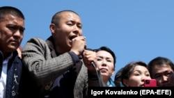 Один из предложенных кандидатов на пост премьер-министра бизнесмен Тилек Токтогазиев.