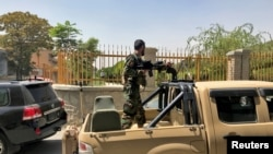 Кабулдагы ооган аскери. 15-август, 2021-жыл.