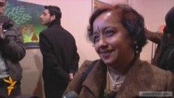 Հնդիկ նկարչուհու աշխատանքները` Երեւանում