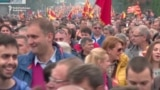 Macedonians Protest Ahead Of Planned Election