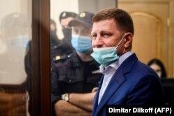 Serghei Furgal, audiat la un tribunal din Moscova10 iulie 2020