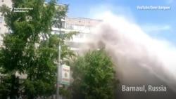 It's Urban Geyser Season In Russia, Ukraine