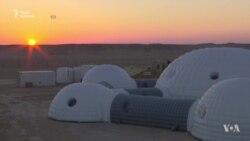 Надувні помешкання і скафандр-комп'ютер – астронавти готуються колонізувати Марс (відео)