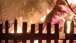 Ад по-русски - весеннее сжигание травы