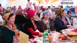 Туркмены встретились в «Шатре Рамадана» в Москве