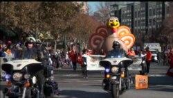 Вечер без политики – парады в честь дня благодарения в США