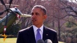 Обама оголосив про нові санкції проти російських високопосадовців