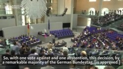 Bundestag Declares 1915 Mass Killings Of Armenians 'Genocide'
