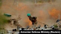 Боец Сил обороны Нагорного Карабаха, 29 сентября