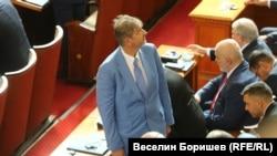 В сряда Лъчезар Иванов се закле като депутат в седмо поредно Народно събрание
