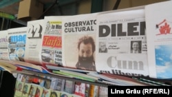 Chiosc de ziare, București, 16 iulie 2020