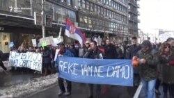 Građani u šetnji za spas reka Srbije