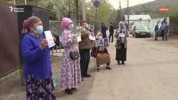 Алматыдағы Қытай консулдығы алдындағы наразылықтың 72-күні