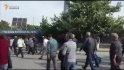 В Турции люди вышли на антиправительственный митинг (видео)