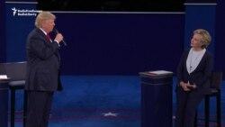 "Trump Klintony ""türmä basmakda"" haýbat atdy"