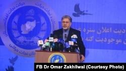 فاروق وردک عضو رهبری حزب حرکت راه نجات افغانستان