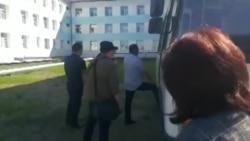 Задержание свидетелей по делу Александра Габышева в Якутске
