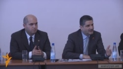 Տիգրան Սարգսյանը հանդիպել է ԵՊՀ ուսանողների հետ