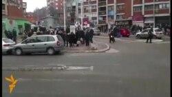 Protestë në mbështetje të Ivanoviqit