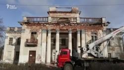 Палац Умястоўскіх у Жамыславе пачалі аднаўляць