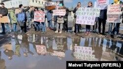Митинг дольщиков во Всеволжске