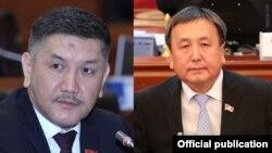 Торобай Зулпукаров и Асылбек Жээнбеков.