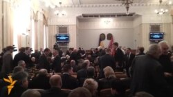 Харківська облрада відмовилася засудити силовий напад Беркуту на Євромайдані