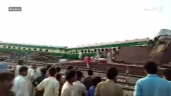 پاکستان کې د اور ګاډو ټکر، ۱۱ تنه وژلي
