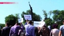 В Кишиневе православные активисты сорвали гей-марш