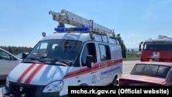 ДТП на трассе Симферополь – Ялта, Украина, 31 Августа2021
