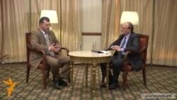 Հրայր Թամրազյանի հարցազրույցը Արմեն Մարտիրոսյանի հետ